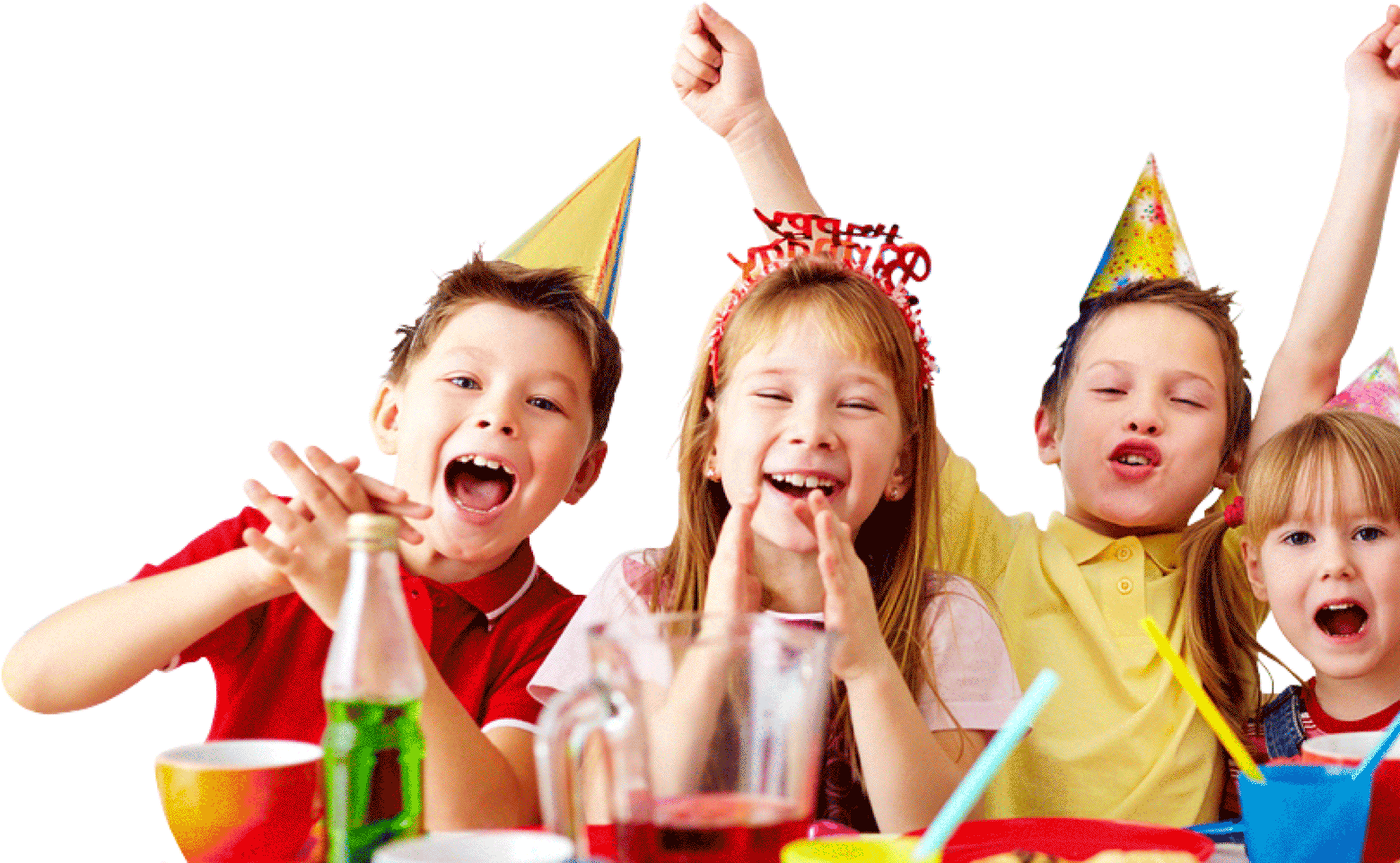 kids enjoying birthday party
