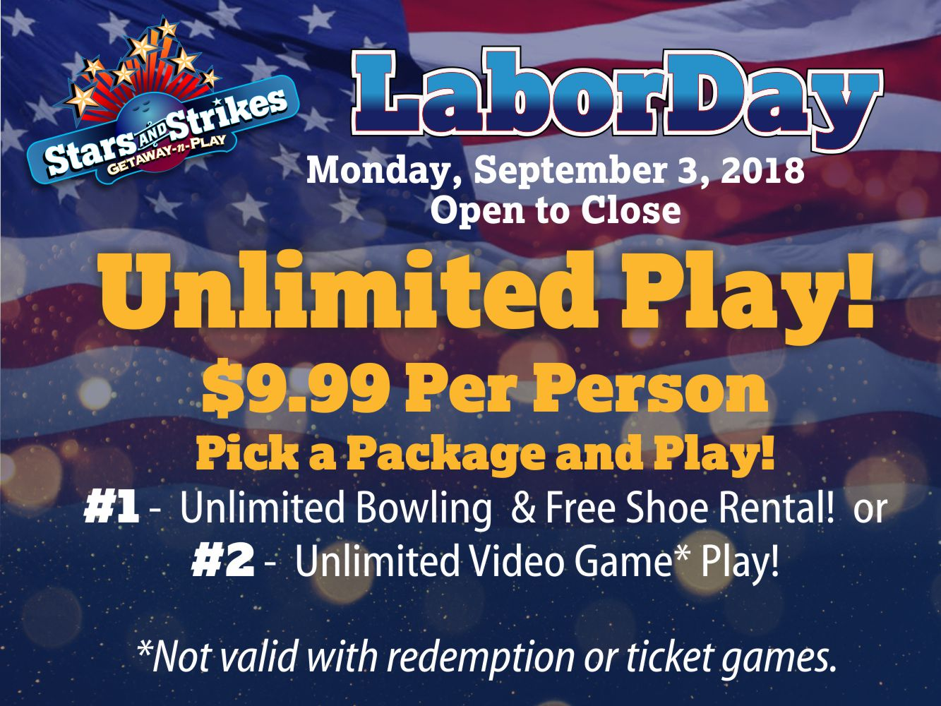 Labor Day Buford And Loganville Stars And Strikes