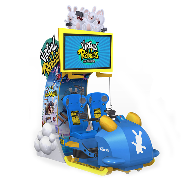 The Rabbids Virtual Reality Rollercoaster Is Here Stars