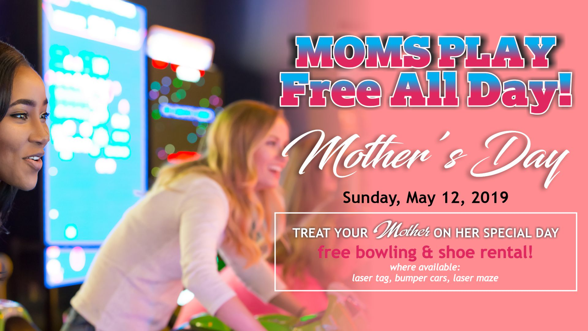 Mother S Day 2019 Stars And Strikes