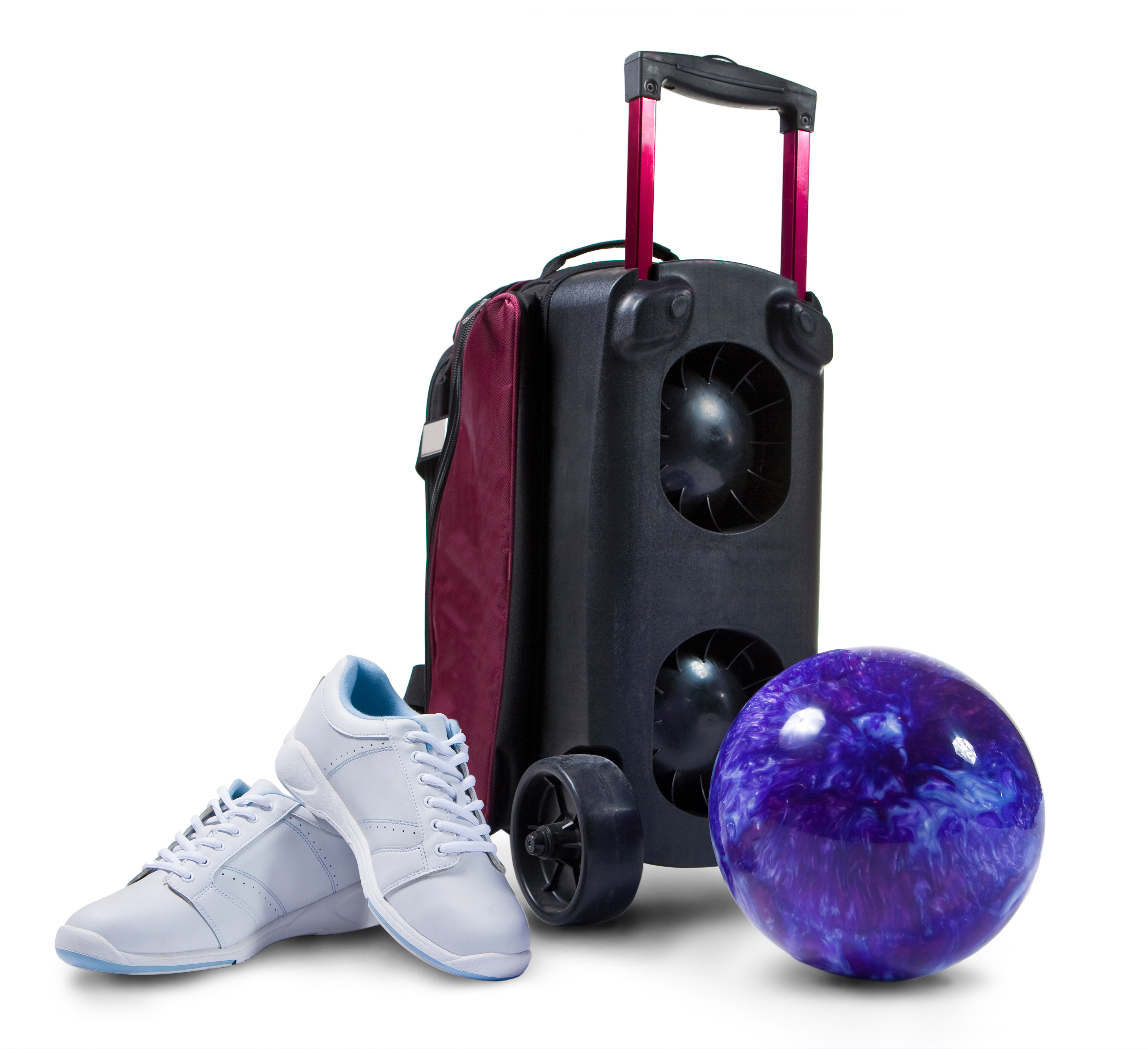 Bowling Case, Shoes, and Ball at the best birthday parties in Smyrna TN