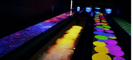 Spark Augmented Reality Bowling Lane